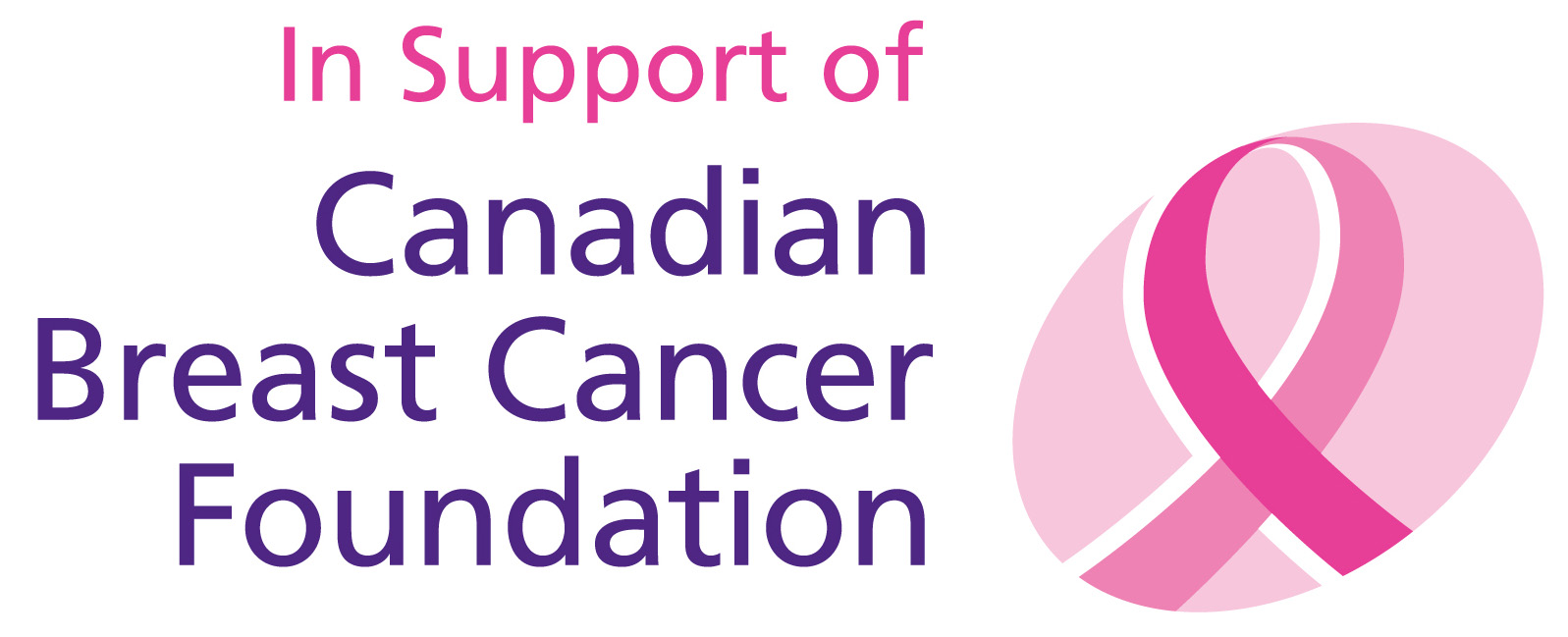 Canadian Breast Cancer Foundation Support logo